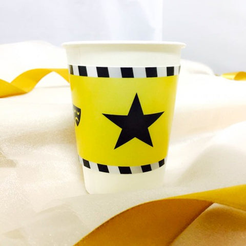 Hollywood Theme - Party Paper Cup Label