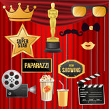 Hollywood Theme - Party Photo Booth Props