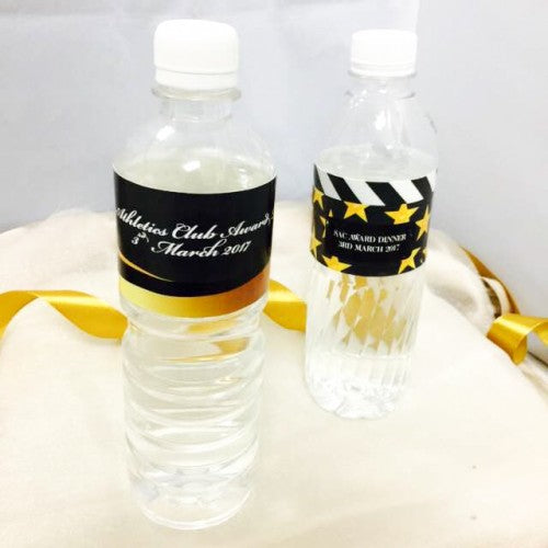 Hollywood Theme - Party Water Bottle