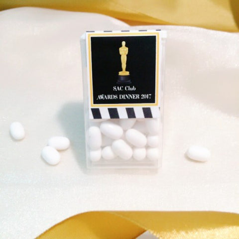 Hollywood Theme - Tic Tac Party Favours Door Gifts