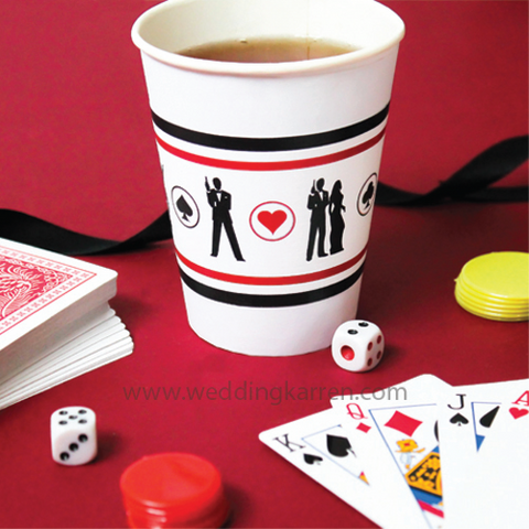James Bond Theme - Party Paper Cup Label