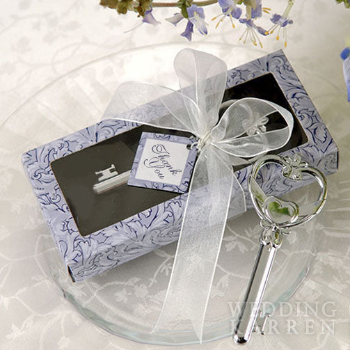 Key to My Heart - LOVE Bottle Opener Wedding Favours