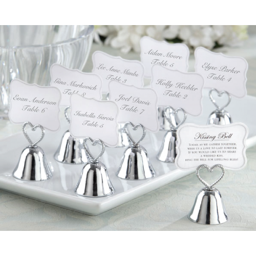 Kissing Bell - Place Card Holder