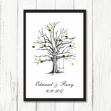 Leaves of Love - Wedding Guestbook Alternative