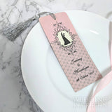 Look of Love - Bookmark Wedding Favours