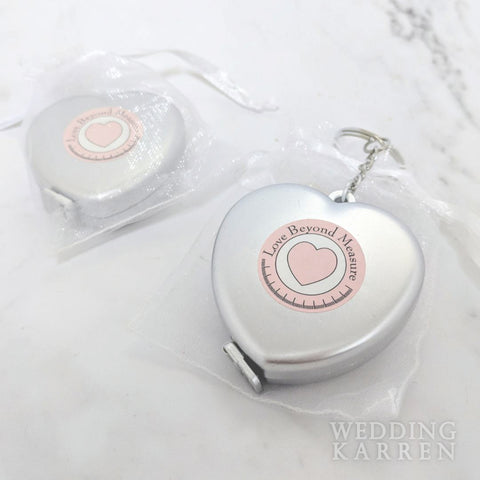 Love Beyond Measure - Measuring Tape Wedding Favours