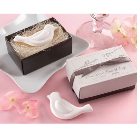 Love Dove - Scented Soap Wedding Favours