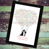 Love in the Air - Wedding Guestbook Alternative