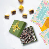 Luxury Green Embellishment - Raya Collection Dates' Box