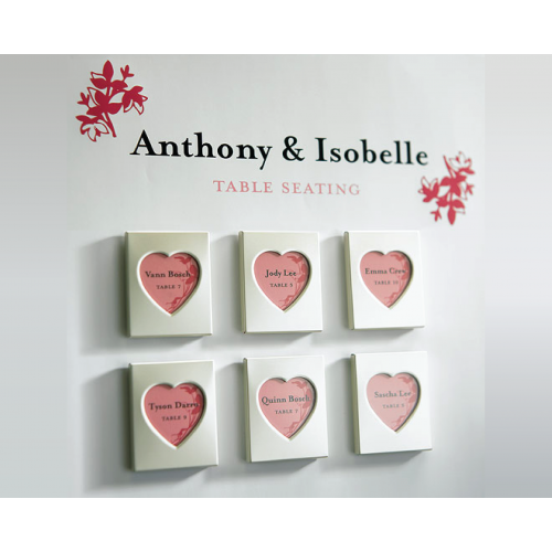 Mini Love Magnet - Photo Frame Wedding Favours