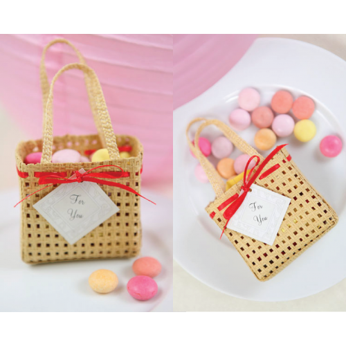Mini Woven Basket - Packaging Favours Basket