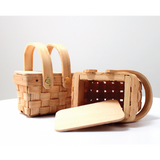 Mini Woven Picnic Basket - SMALL Packaging Favours