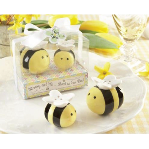 Mommy & Me - BEE Salt & Pepper Shaker Door Gifts