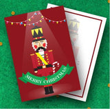 Nutcracker Knight - Christmas Collection Greeting Card