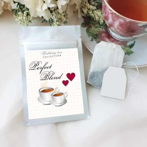 Perfect Blend Personalized Tea Bag Door Gifts