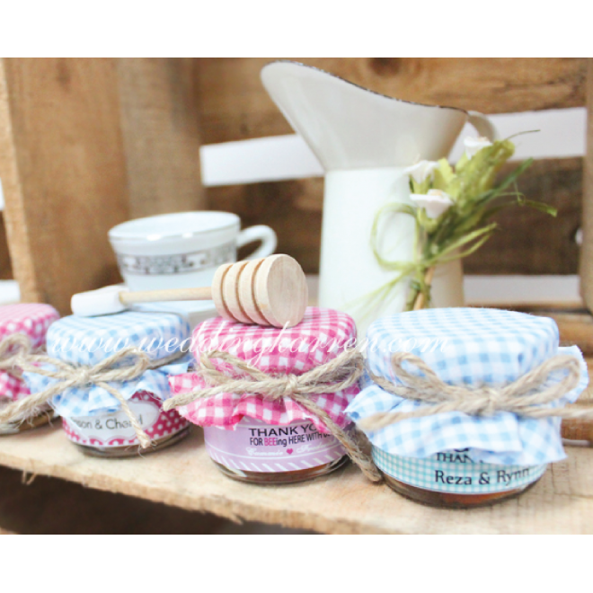 Personalized Mini Honey Wedding Favours Wedding Karren
