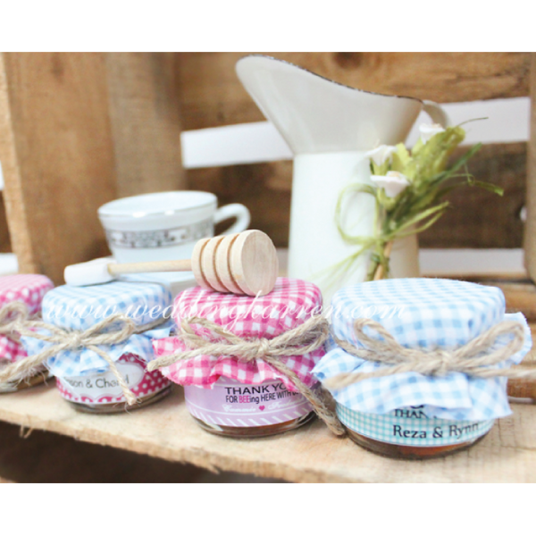 Personalized Mini Honey Wedding Favours