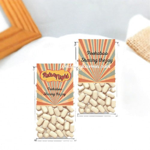 Retro Theme - Tic Tac Party Favours Door Gifts