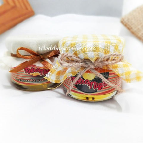 Retro Theme - Mini Honey Party Favours Door Gifts