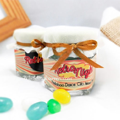 Retro Theme - Mini Jelly Bean Favours Door Gifts