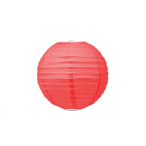 Ruby Red Sphere Paper Lantern