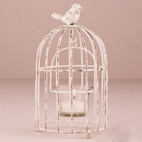 Rustic Birdcage - Tealight Holder Wedding Favours