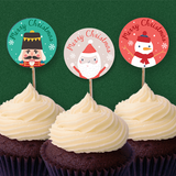 Santa & Co - Christmas Collection Cupcake Topper