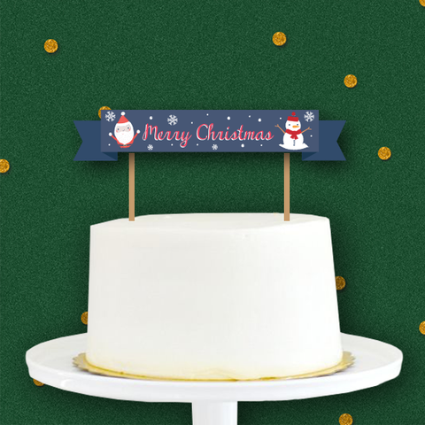 Santa & Co - Christmas Collection Mini Cake Topper