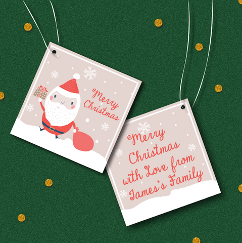 Santa & Co - Christmas Collection Thank You Tag