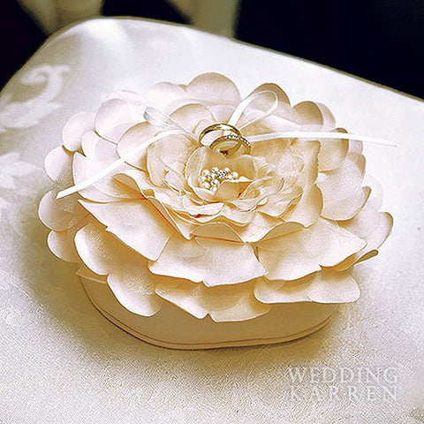 Sensational Floral - Wedding Ring Bearer Pillow