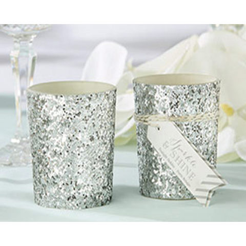 Sparkle & Shine - SILVER Tealight Holder Wedding Favours