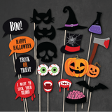 Spooky Night - Halloween Party Photo Booth Props
