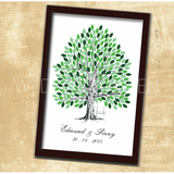Summer Tree - Wedding Guestbook Alternative