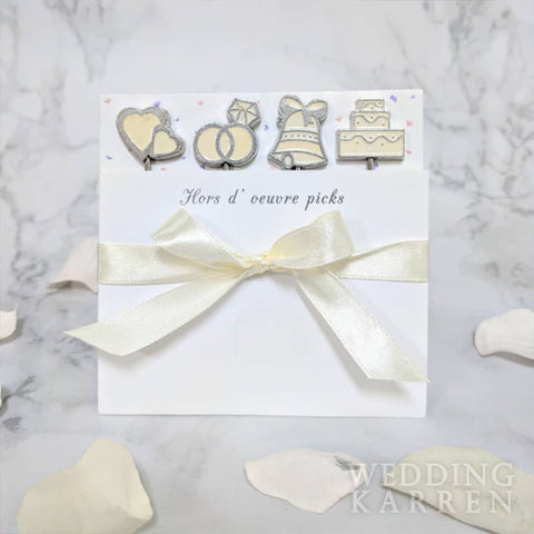 Sweet Beginnings - Fruit Picks Wedding Favours
