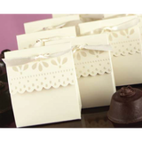 Sweet Scallop - IVORY Wedding Favours Packaging Box