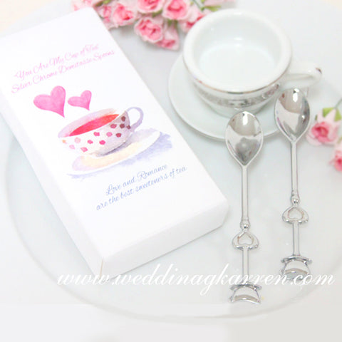 Sweetened with Love & Romance - Teaspoon Wedding Favours
