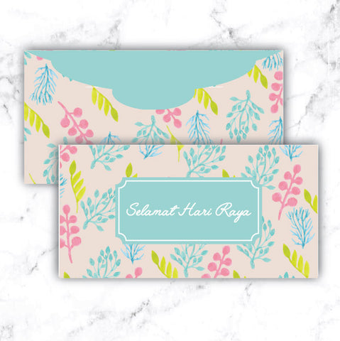 Tropical Pastel - Raya Collection Money Packet