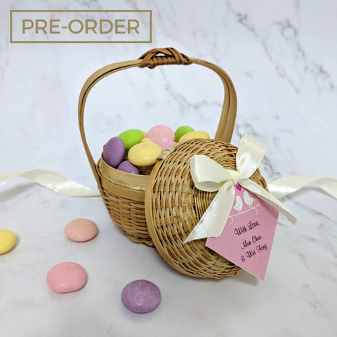 Weave Bamboo Basket - NATURAL Packaging Wedding Favours