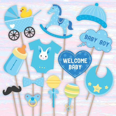 Welcome Home - Baby Shower Photo Booth Props