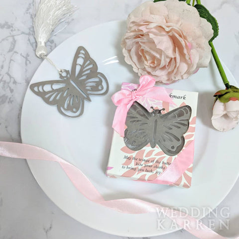 Wings of Love - Bookmark Wedding Favours