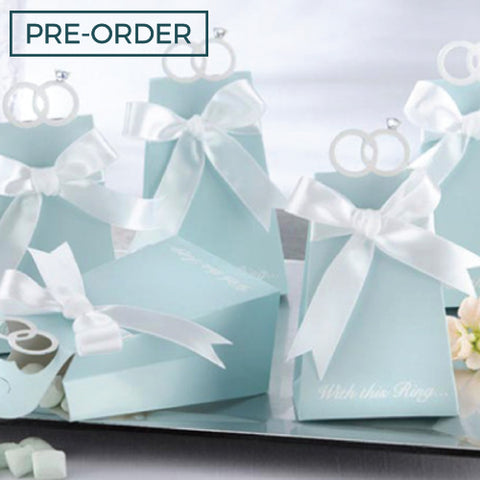 With This Ring - Wedding Favours Packaging Box