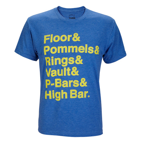 Floor Pommel Rings Vault PBars High Bar T-shirt