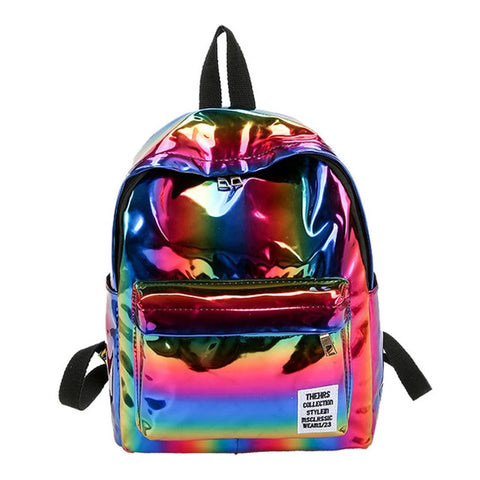 bargains-for-us - Holographic Glitter Backpack - Bags