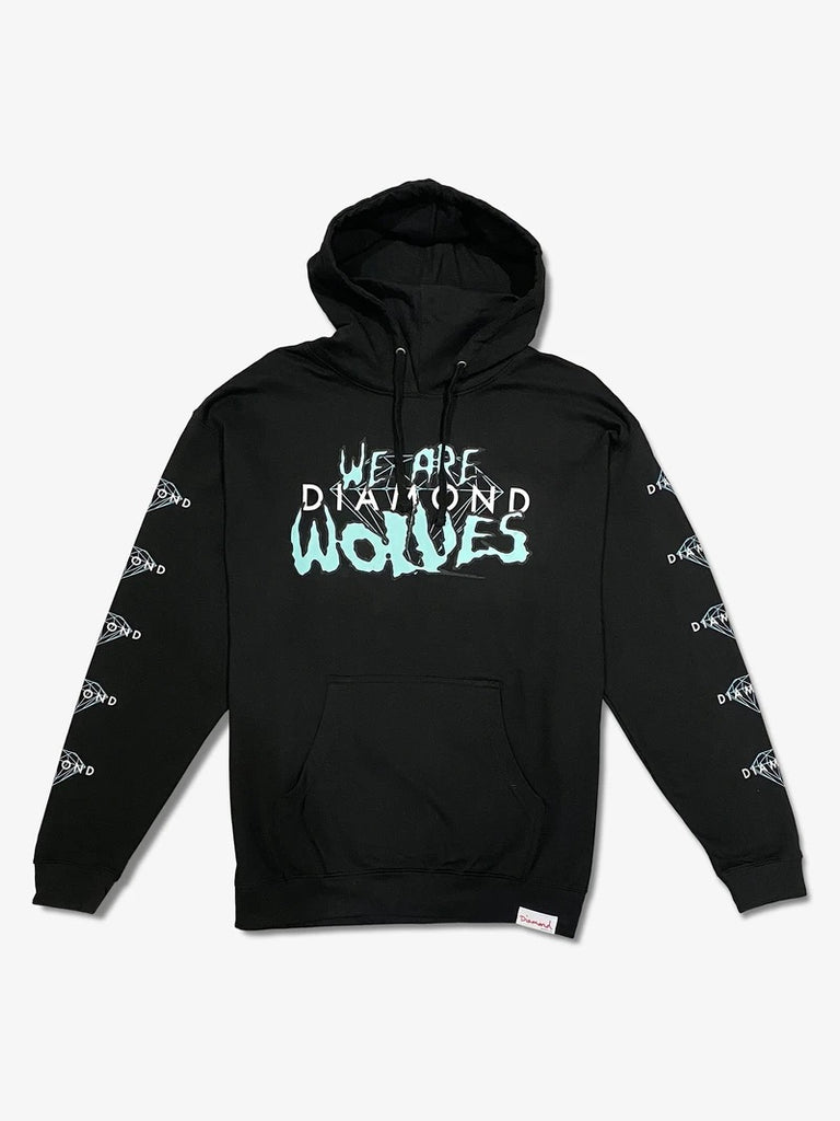 Diamond Supply co - We Are Wolves Collab