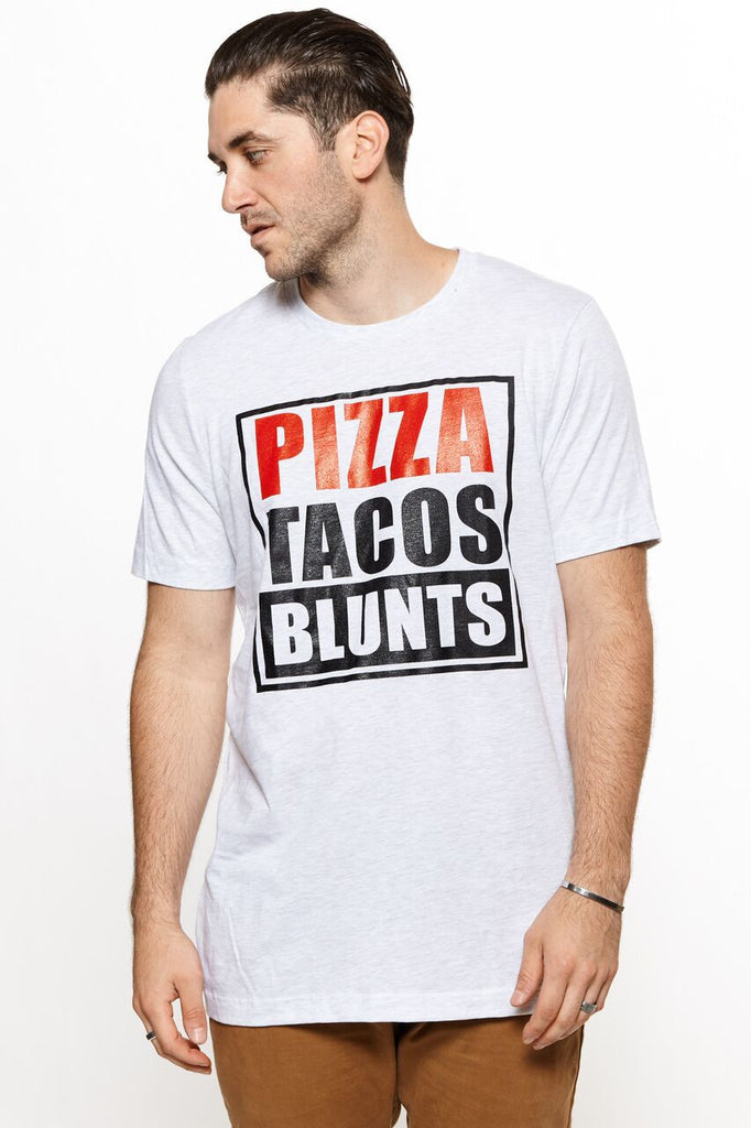 Pizza Taco Blunts Tee
