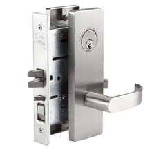 MR154 Mortise Entry Lock w/Deadbolt Escutcheon