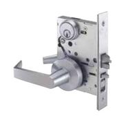 MR116 Mortise Entry Lock Sectionaln Trim