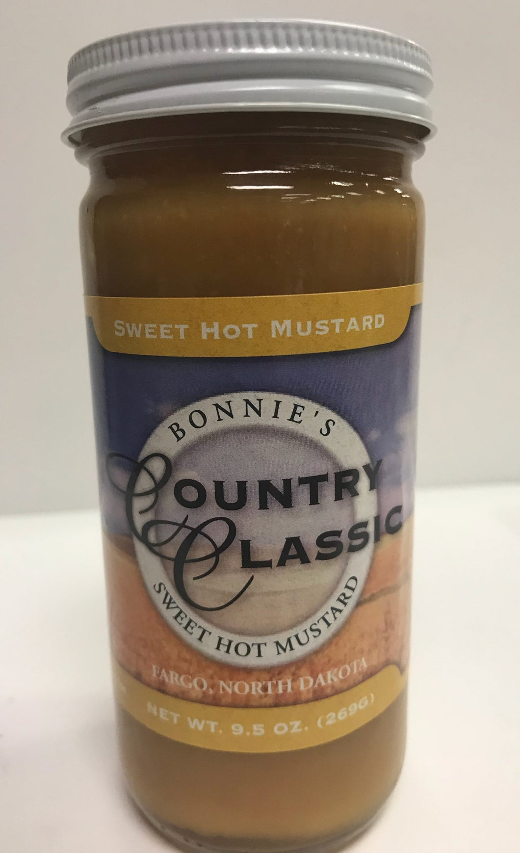 Sweet Hot Mustard  9.5oz