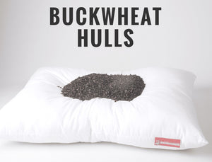 Buckwheat Pillow made in North Dakota