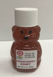 Chokecherry Honey Bear 2oz